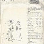 1964-Vintage-VOGUE-Sewing-Pattern-B36-WEDDING-DRESS-GOWN-1777-BY-JOHN-CAVANAGH-262786413978-2
