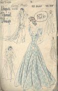1940-WW2-Vintage-VOGUE-Sewing-Pattern-B32-WEDDING-BRIDAL-GOWN-DRESS-1826-252882903149