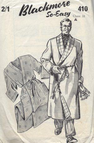 MEN'S VINTAGE SEWING PATTERNS