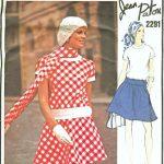 1970-Vintage-VOGUE-Sewing-Pattern-B36-DRESS-1639-By-Jean-Patou-252379625769