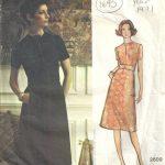 1971-Vintage-VOGUE-Sewing-Pattern-B36-DRESS-1695-By-Jo-Mattli-252484301779