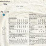 1971-Vintage-VOGUE-Sewing-Pattern-B36-DRESS-1695-By-Jo-Mattli-252484301779-2